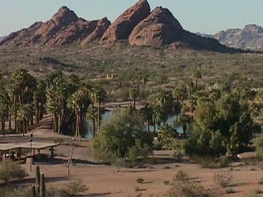 Papago Park panorama